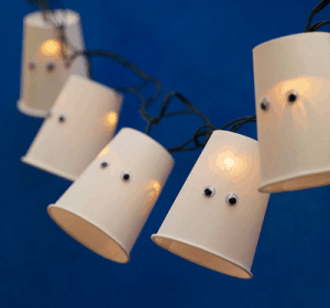 paper cup lights