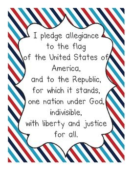 photo relating to Pledge of Allegiance Printable known as Pledge of Allegiance Printable Top Scouts