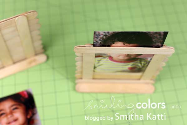 Changeable Popsicle Picture Frame