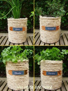 sisal wrapped cans