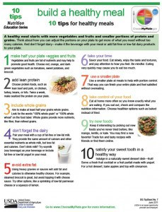 10 tips for healthy meals