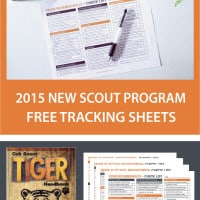 Tracking Sheet Tiger Cub Scout 2017