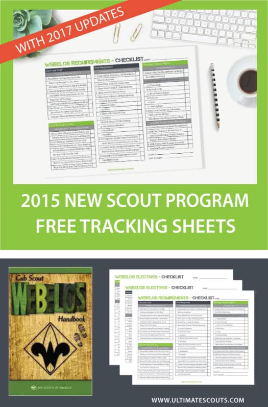 Individual Webelos Cub Scout Tracking