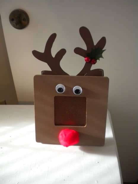 Diy Rudolf Picture Frames Ultimate Scouts