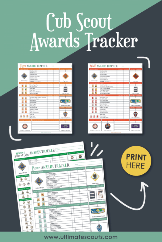 photo regarding Cub Scout Printable identify Cub Scout Awards Tracker - (With Cost-free Printables) Supreme